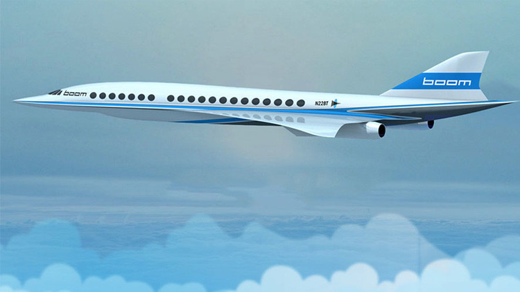 Mini-Concordes marcarán el comienzo de la era de los viajes supersónicos de 'bajo costo'