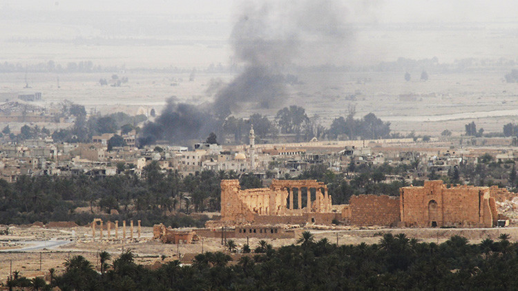 El Ejército sirio libera la ciudadela de Palmira del Estado Islámico