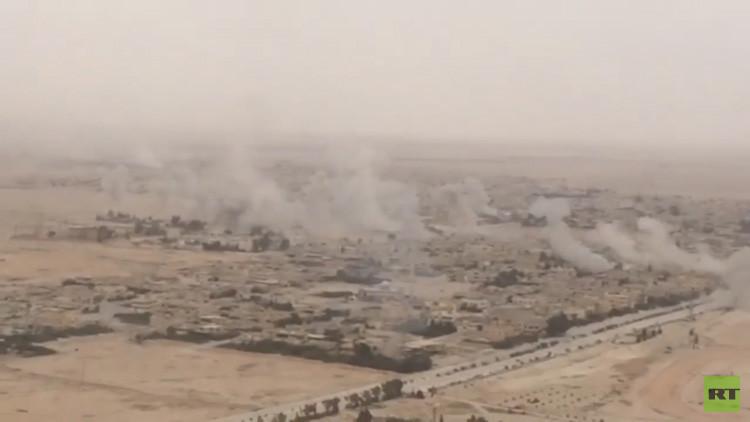 Imágenes exclusivas de RT desde Palmira, zona de intensas batallas