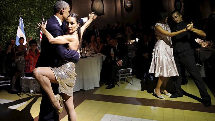 ¿El tango con Obama le causa a la bailarina problemas con su pareja?