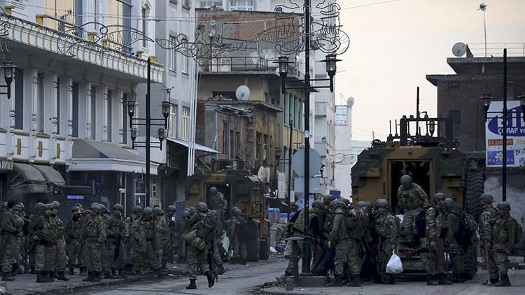 Mapa: Represalias antikurdas en el sudeste de Turquía