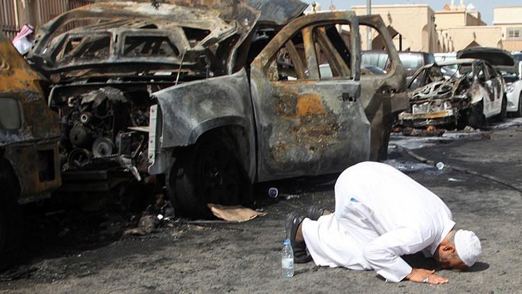 ¿Y la compasión por los saudíes?: El Twitter árabe retoca una caricatura de los atentados en Europa