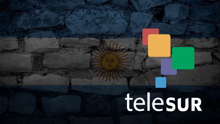 El Estado argentino deja de participar en Telesur