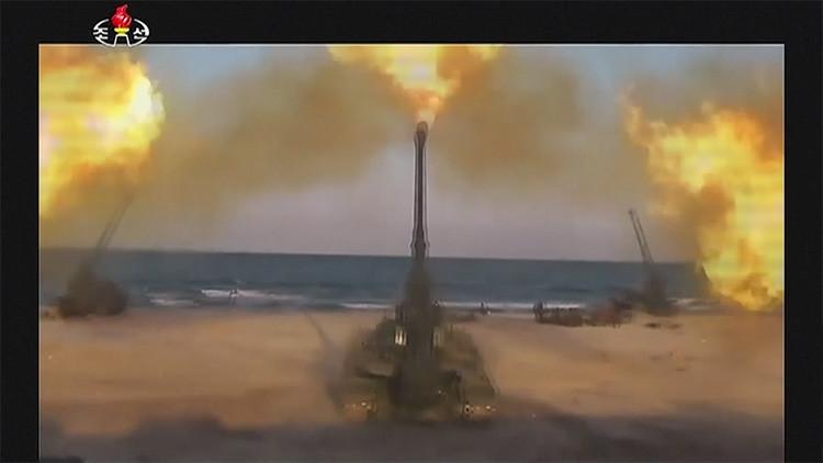 Publican el video de los ataques simulados norcoreanos contra la sede presidencial de Corea del Sur
