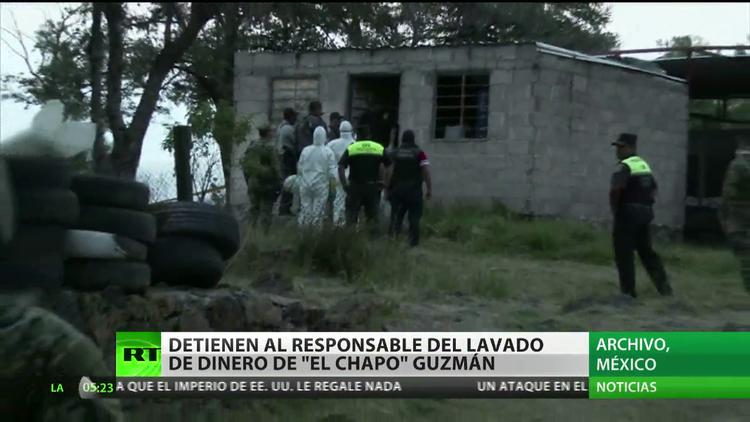 México: Detienen al responsable del lavado de dinero de 'El Chapo' Guzmán