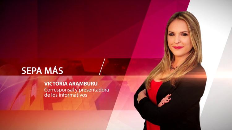 Victoria Aramburu, corresponsal y presentadora de los informativos