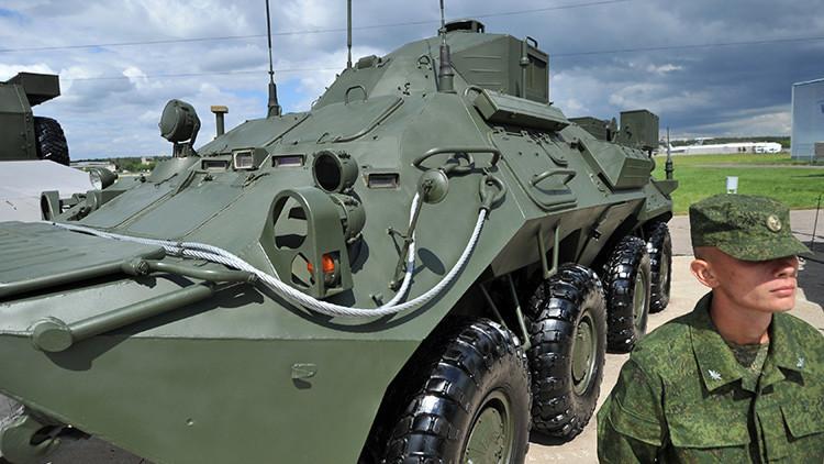Rusia presentará un sistema que mejora y acelera el manejo de las tropas