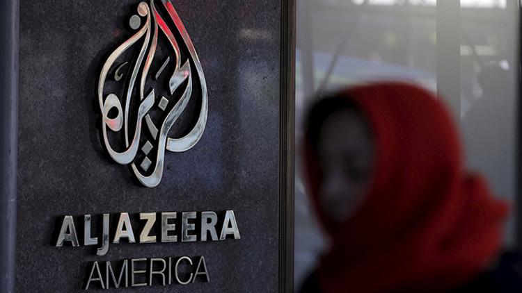 Una oficina de Al Jazeera en EE.UU.