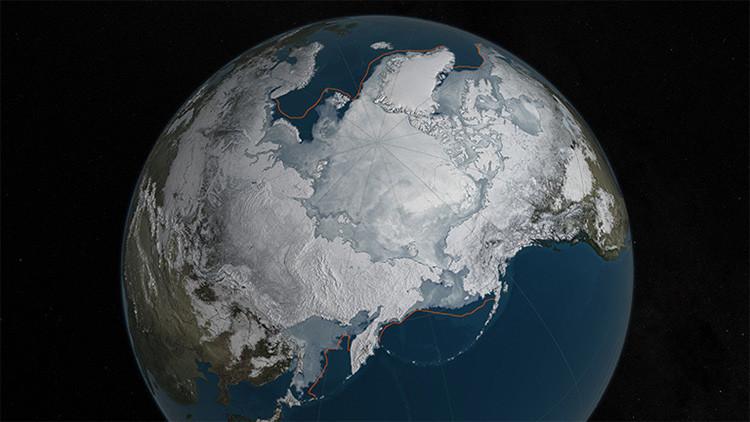 Video inquietante: La capa de hielo invernal del Ártico registra un mínimo histórico