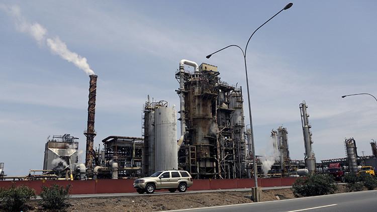 La refinería El Palito de PDVSA en Puerto Cabello