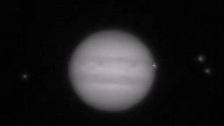 Incidente cósmico: dos videos muestran impactante colisión de un objeto con Júpiter