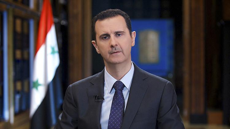 Assad: El terrorismo en Siria es apoyado por Turquía, Arabia Saudita y países de la UE