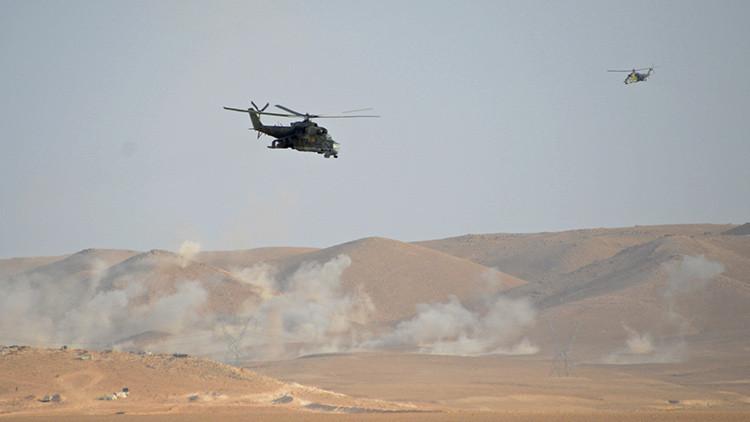 Videos: Así cazan los 'cocodrilos' rusos a los terroristas del Estado Islámico cerca de Palmira