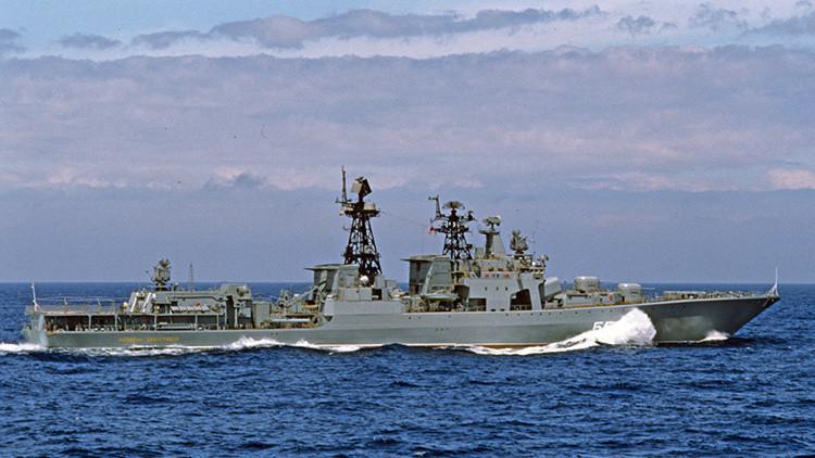 La flota rusa participará por primera vez en ejercicios antiterroristas en el océano Pacífico