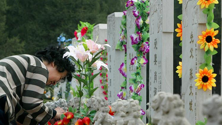 'Ecomuerte': las autoridades de Pekín promueven los funerales ecológicos