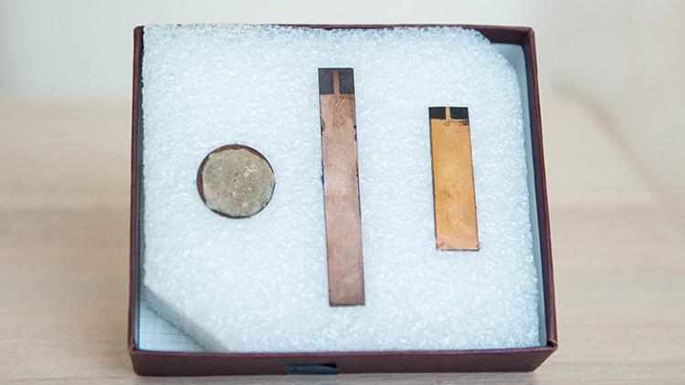 Componentes para ensamblar una batería nuclear