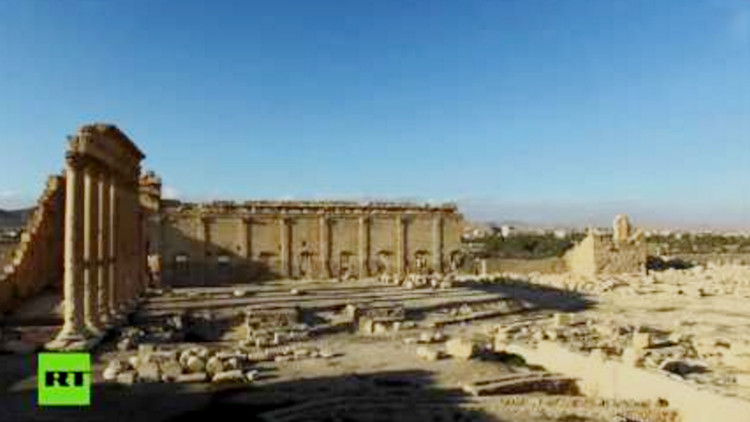 Nuevo video de Palmira destruida: cuando la cultura choca con la barbaridad