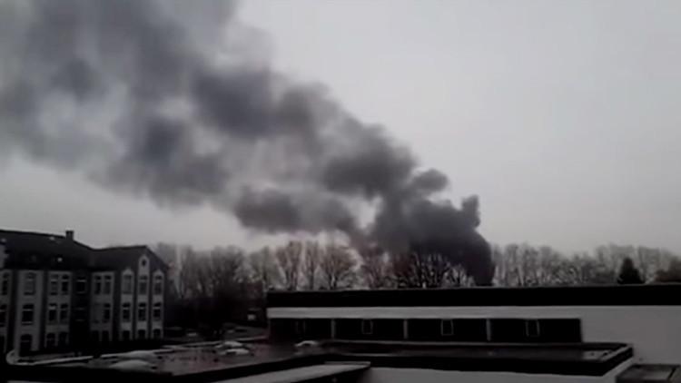 Alemania: Explosión de un buque cisterna deja al menos dos muertos (FOTOS, VIDEOS)