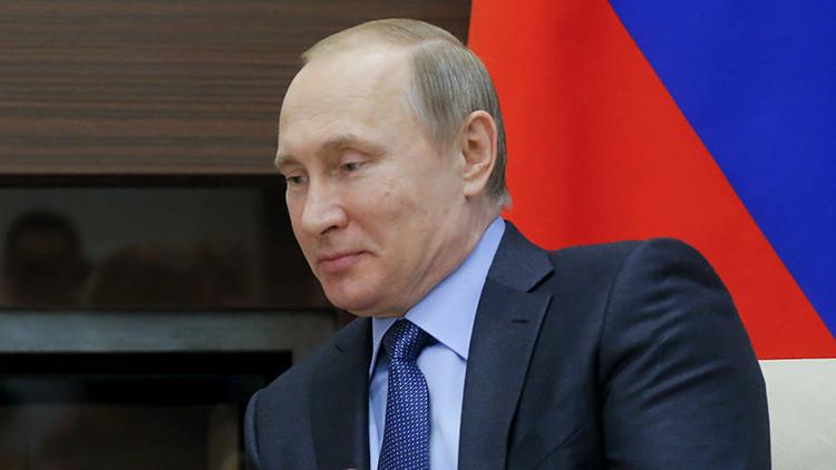 """Putin: """"Hay que fortalecer la seguridad en las fronteras rusas"""""""