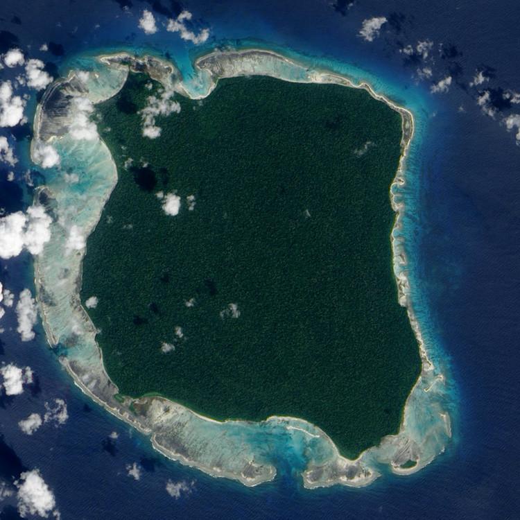 Isla Sentinel del Norte.