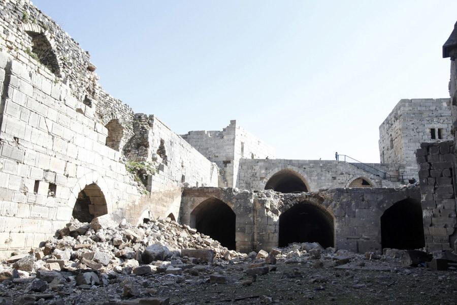 Ruinas de castillo Krac des Chevaliers