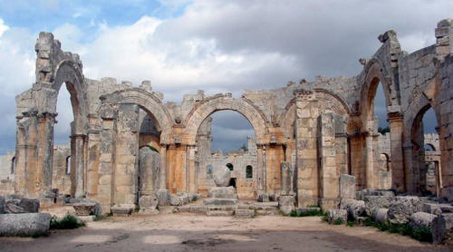 Antiguas localidades en el norte de Siria