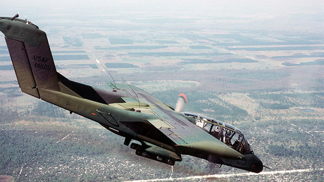 North American Rockwell OV-10 Bronco, 1985