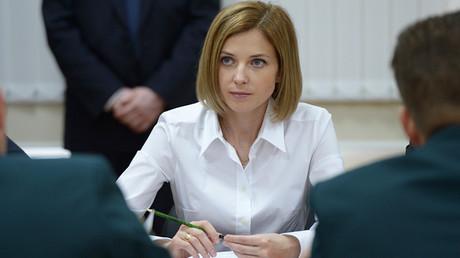 Natalia Poklónskaya, la fiscal general de la República rusa de Crimea