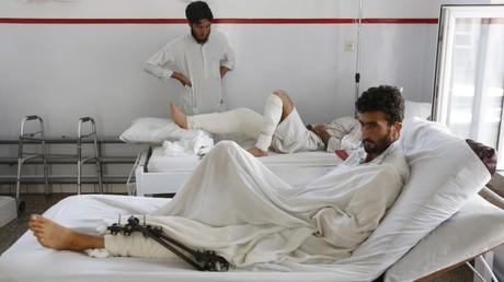Sobrevivientes del bombardeo estadounidense contra el hospital de Kunduz