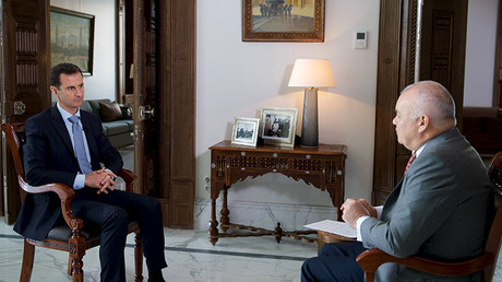 El presidente sirio Bashar al Assad