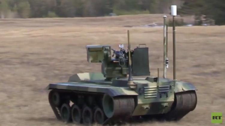 Video: Así es el nuevo robot de combate ruso Nerehta en acción