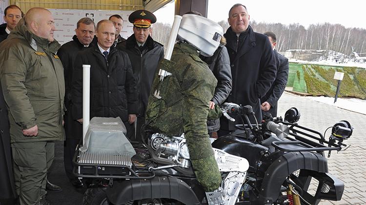 """""""Lince de combate"""": crean en Rusia un 'robot felino' para la lucha antitanque"""