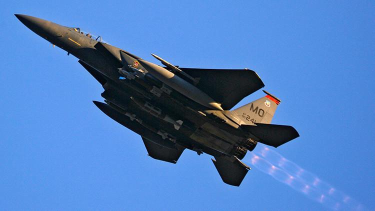 EE.UU. despliega cazas F-15 en Islandia y los Países Bajos