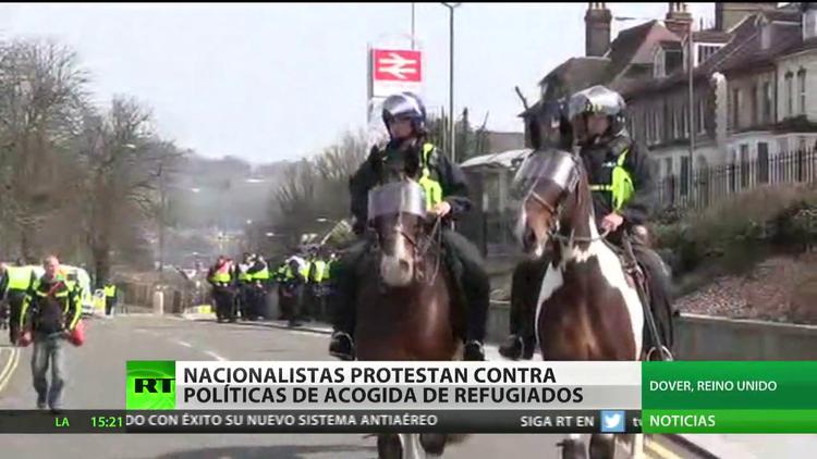 Detienen en Bruselas a decenas de participantes de protestas callejeras