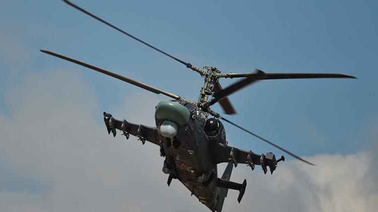Video: El helicóptero ruso Alligator, grabado por primera vez durante un vuelo de combate en Siria