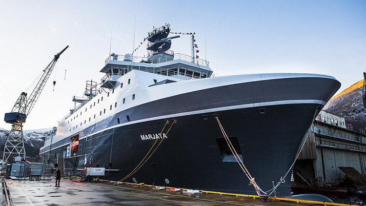Noruega construye un buque militar por una suma récord para espiar a Rusia