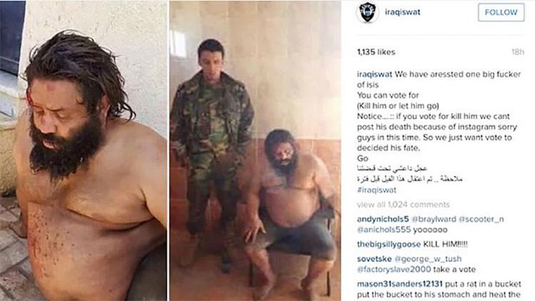 Una cuenta de Instagram pide a los usuarios que voten para decidir la suerte de yihadistas presos
