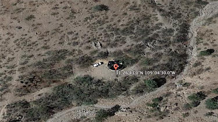 Google Earth 'caza' un misterioso objeto estrellado en EE.UU.