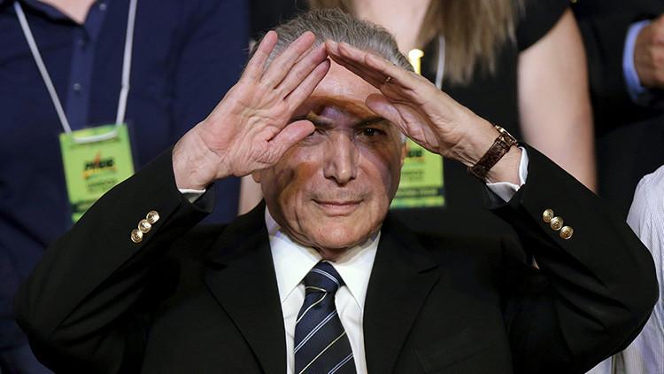 El Tribunal Supremo de Brasil inicia el proceso de juicio político contra el vicepresidente del país
