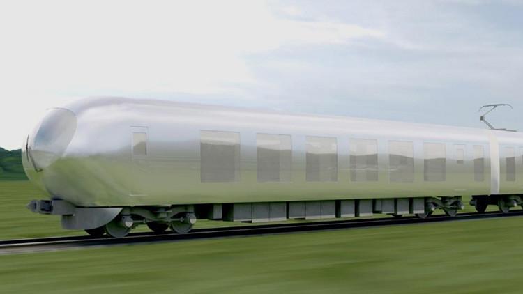 Video: Japón contará con trenes 'invisibles' que se integrarán a cada paisaje