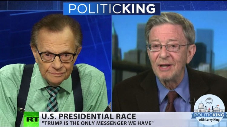Politólogo Cohen a King: Trump es el único que habla de los problemas reales