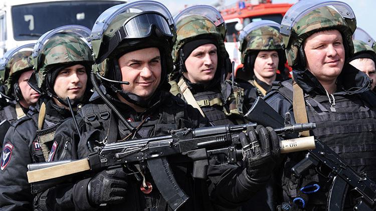 ¿Cuál es el objetivo de la nueva Guardia Nacional de Rusia?