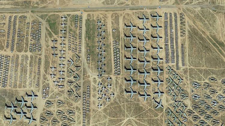 Los lugares más asombrosos captados por Google Earth