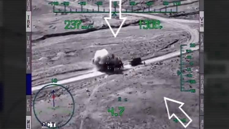 """""""Huyen como cucarachas"""": Así es cómo los helicópteros rusos 'cazan' a los terroristas"""