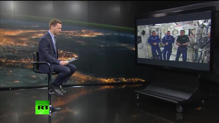 'Lanzamiento' de preguntas al espacio: RT habla con los cosmonautas de la EEI