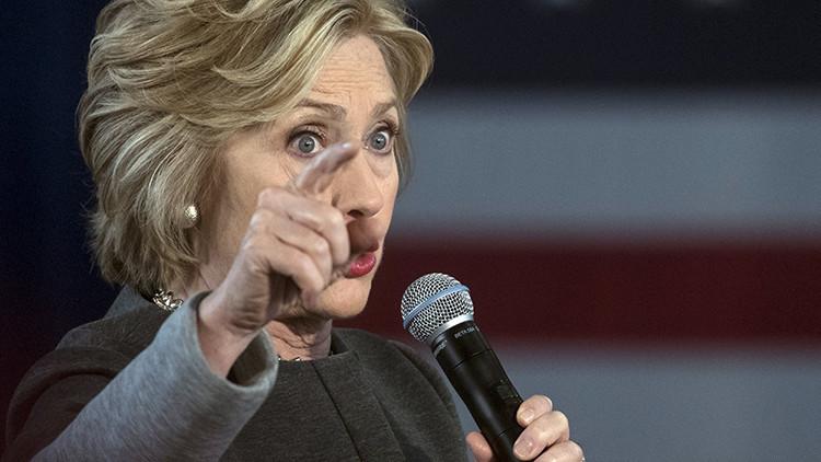 "Hillary Clinton obligará a China a ""acatar la disciplina"""