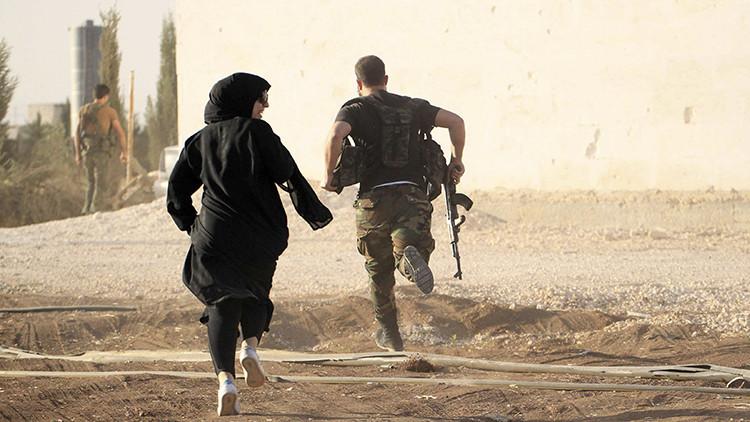 Imágenes exclusivas: Un periodista de RT comenta los momentos más dramáticos de la crisis siria