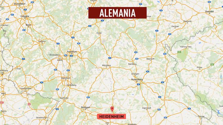Dos hombres armados abren fuego contra civiles en Alemania