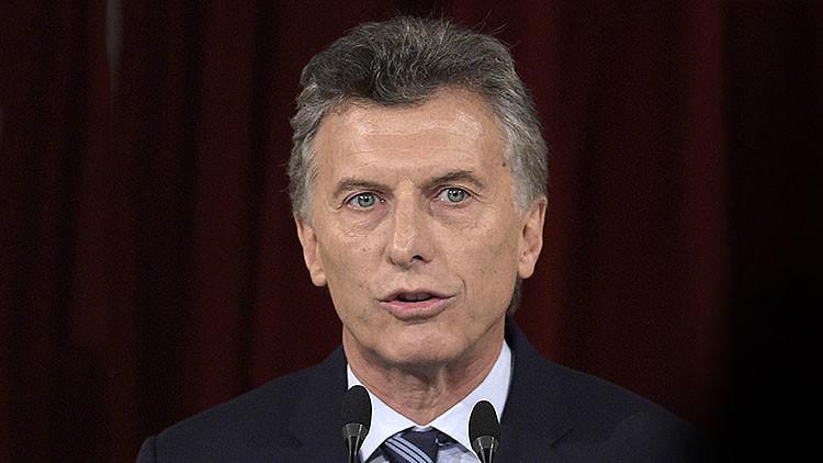 """Macri sobre los 'papeles de Panamá': """"Cumplí con la ley y no tengo nada que ocultar"""""""