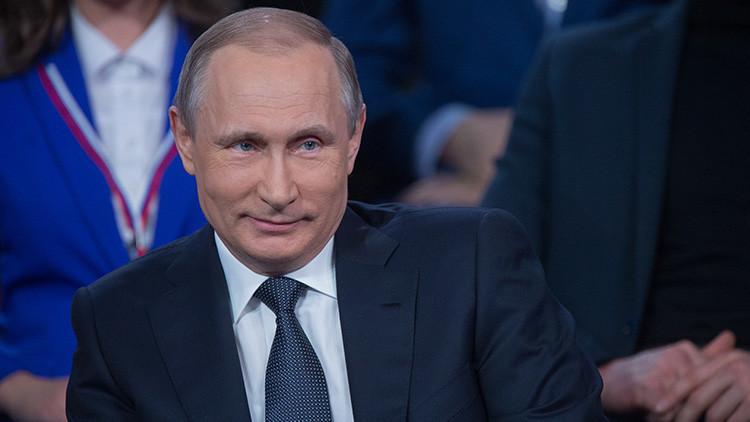 El día que Putin hizo de traductor para un periodista alemán (Video)